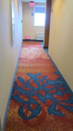 Residence Inn San Diego Downtown: Hallway