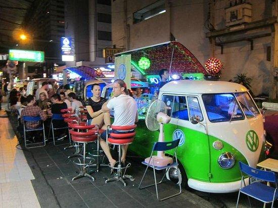 Salil Hotel Sukhumvit Soi 11: The Funky VW Minivan Bars