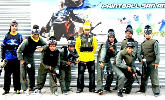 Paintball San Andres