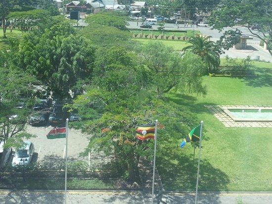 Mount Meru Hotel: Vue depuis ma chambre 405