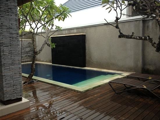 The Wolas Villas & Spa: private pool