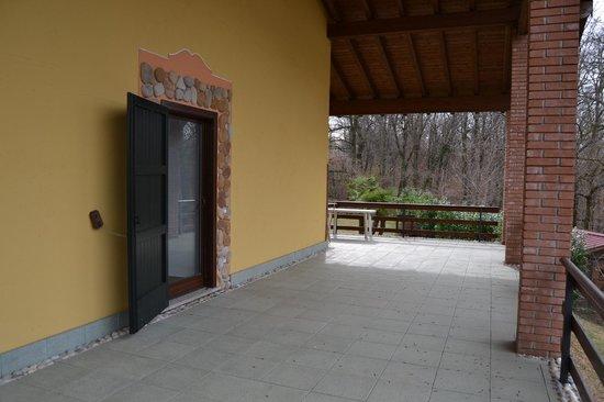 Coy's Ranch: Terrazza