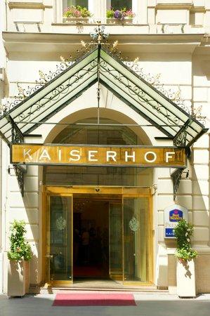 BEST WESTERN PREMIER Kaiserhof Wien: EINGANG KAISERHOF