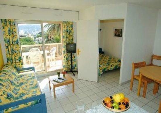 Résidence Odalys Open Golfe Juan : Intérieur d'un appartement