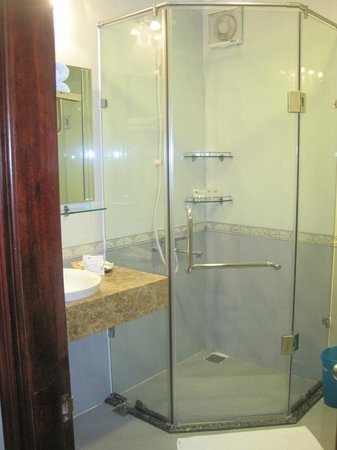 Hanoi City Palace Hotel: Shower