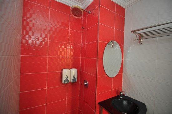 Hotel de Art: Eclectic bathroom
