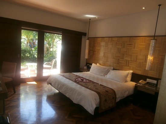 Padma Resort Legian: Looking out to the courtyard