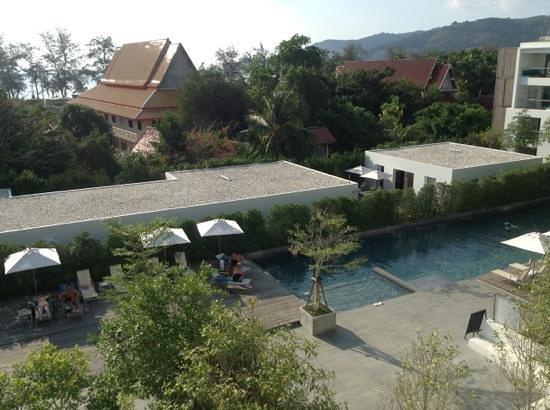 Nap Patong: vue de notre balcon