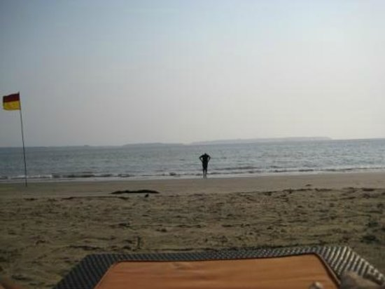 Grand Hyatt Goa: The Bambolin Bay in the afternoon