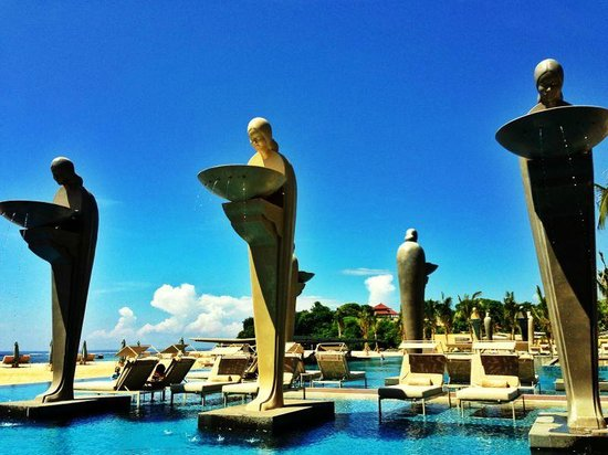 Mulia Villas: Ocean Pool