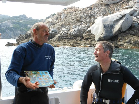 Areamare Diving Center: briefing