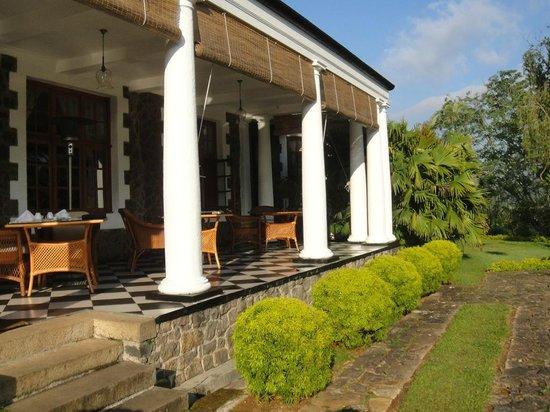 Ceylon Tea Trails - Relais & Chateaux: Dining area