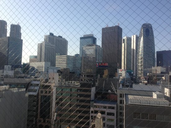 Hotel Sunroute Plaza Shinjuku: View from the 13th Floor