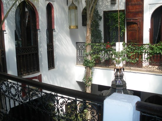 Riad La Porte Rouge: View from room