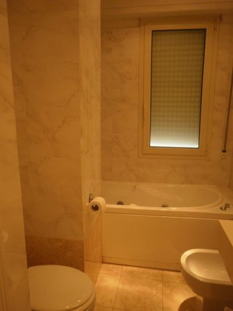Hotel Touring Pisa: il bagno