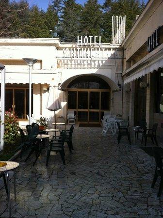 Hotel Continentale: ingresso