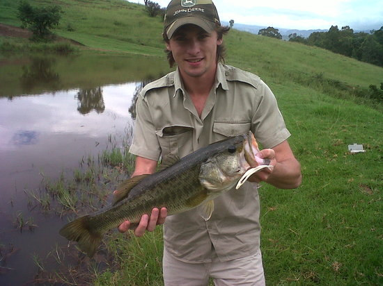 Fishing in river and dams at the Berghouse and Cottages