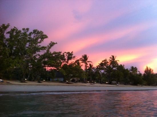 VOI Amarina resort : tramonto al Resort