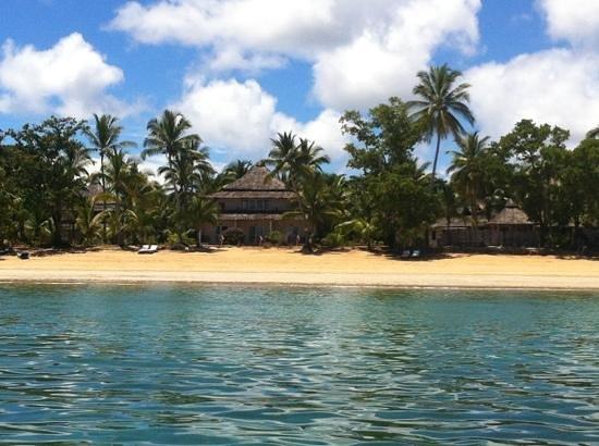 VOI Amarina resort: Resort visto dal mare