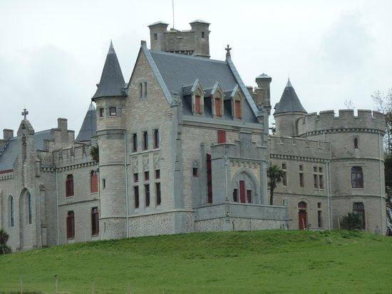 Château d'Abbadie : chateau abbadia vue generale