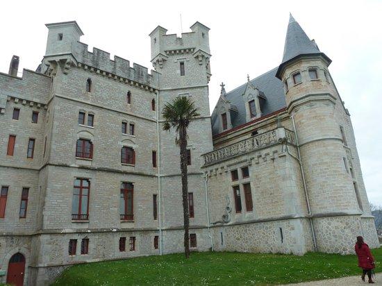 Château d'Abbadie : chateau abbadia
