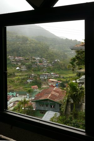 Banaue Homestay: View from the hallway