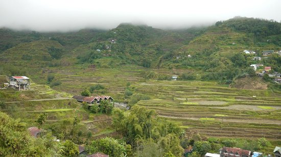 Banaue Homestay: View from the balcony