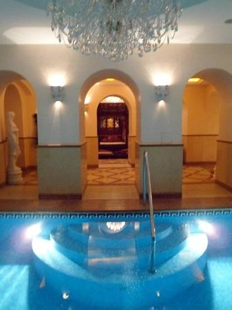 Alchymist Grand Hotel & Spa: swimming pool and spa