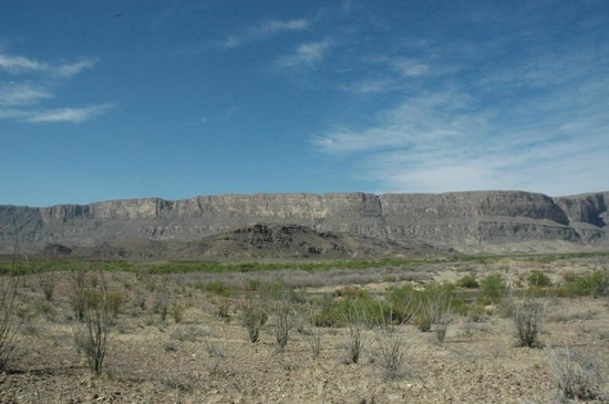 Gage Hotel: view of Big Bend National Park