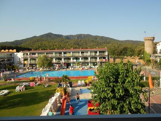 MedPlaya Hotel San Eloy: Uitzicht vanaf het balkon