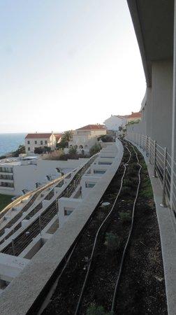 Rixos Hotel Libertas: Vue du balcon