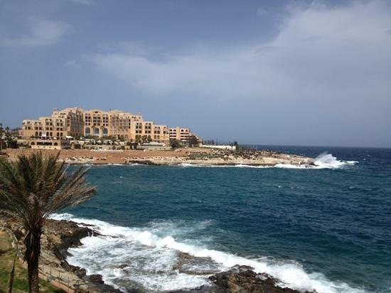 The Westin Dragonara Resort, Malta: view from my room 476