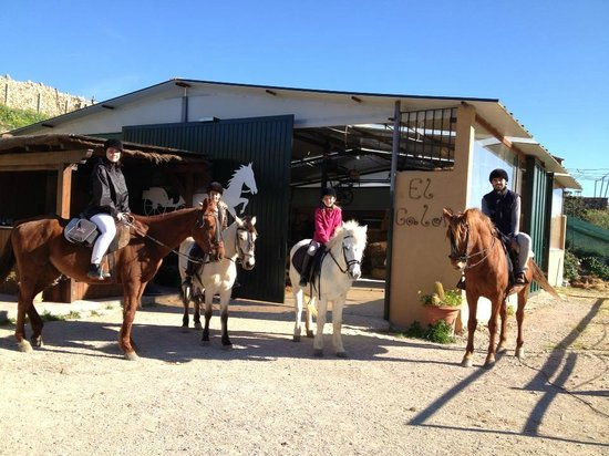 San Luis de Sabinillas, Spain: Riding school at the Costa del Sol