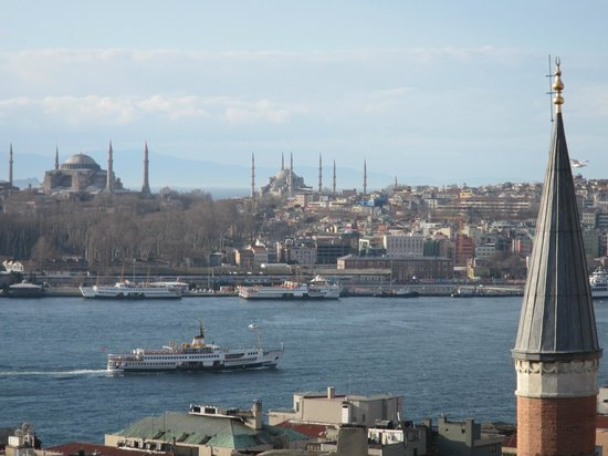 Witt Istanbul Suites: View from room 61 balcony