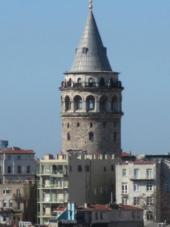 Witt Istanbul Suites: View of Galata Tower from room 61