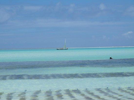 Coco Beach Hotel: La vue sur l'Océan Indien depuis le Coco Beach