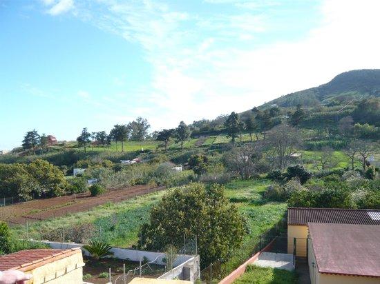 Casa El Zumacal: Dachterrasse Aussicht