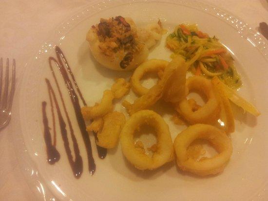 Park Hotel L'Incanto: frittura di pesce