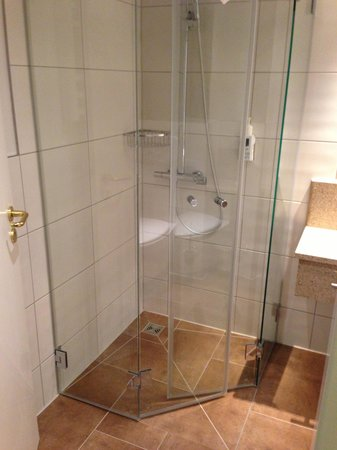 Best Western Premier Hotel An der Wasserburg: Shower