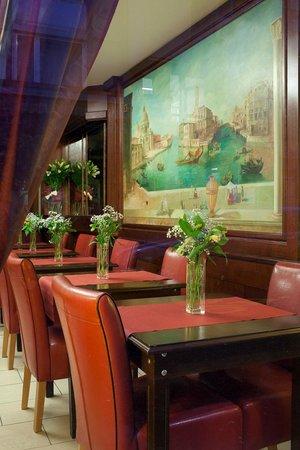 Hotel Admiral Geneva: Breakfast restaurant