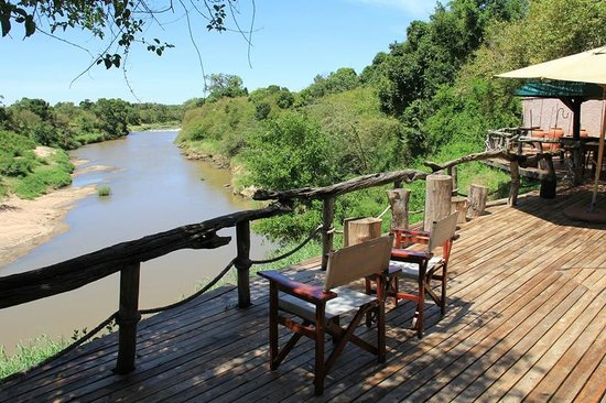 Mara Explorer Camp: View Talek River