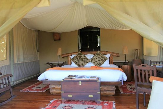 Mara Explorer Camp: Luxury rooms