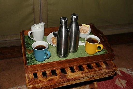 Mara Explorer Camp: Early morning call
