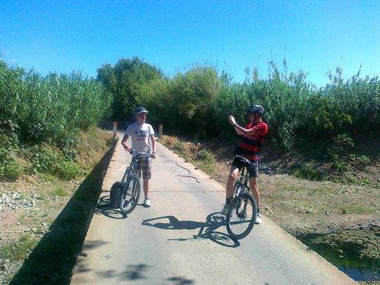 Algarve Bike Holidays: On the way to Tavira