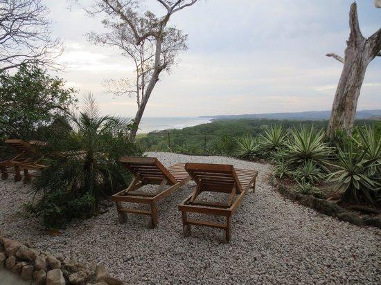 Hotel Lagarta Lodge: Blick von unserer Terrasse