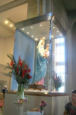 Santuario Virgen Maria del Rosario de San Nicolas : VIRGEN DEL ROSARIO DE SAN NICOLAS
