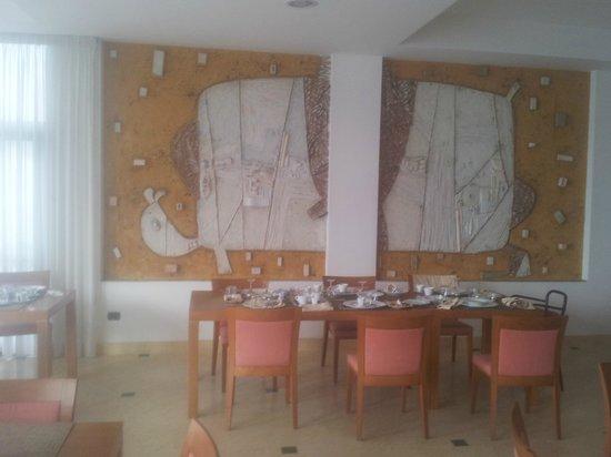 Hotel Casa Rossa 1888 : sala ristorante