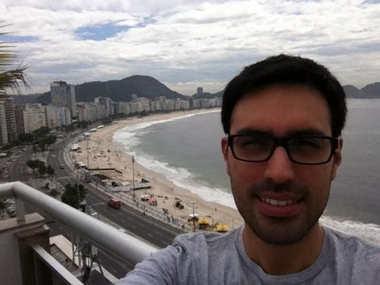 Orla Copacabana Hotel: techo del Orla