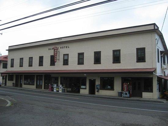 Manago Hotel: ホテルの外観