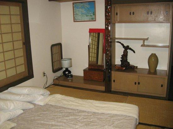 Manago Hotel: ジャパニーズ・ルーム内部
